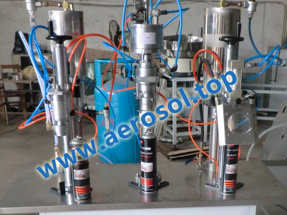 ASL-3B Semi-automatic Aerosol Filling Machine