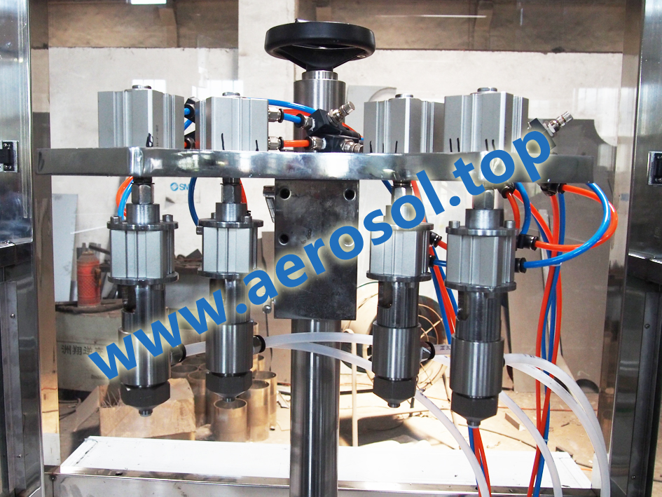 APU Automatic PU-Foam Aerosol Filling Machine