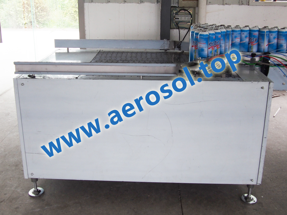 Automatic Spray Paint Aerosol Filling Machine